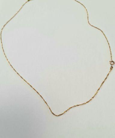 Łańcuszek złoty 585