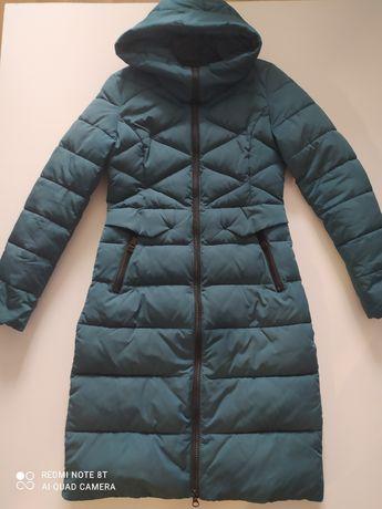 Пуховик женский пальто зимнее куртка теплая