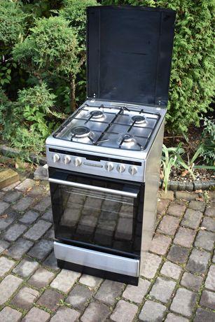 Kuchenka gazowo elektryczna Amica 50 cm srebrna