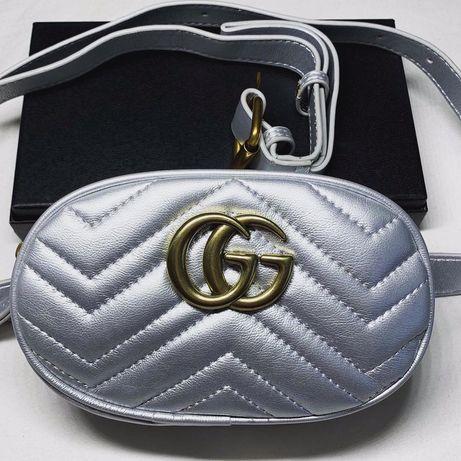 Поясная сумка Gucci бананка