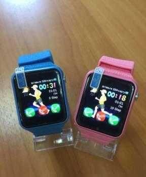 Детские с GPS трекером - смарт часы, V7K Smart Baby Watch
