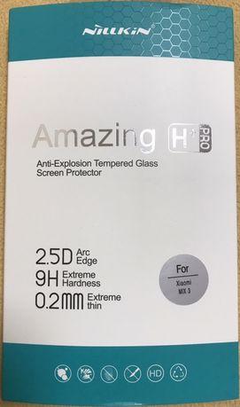 Стекло защитное на экран Xiaomi Mi Mix3 Nilkin Amazing H+ Pro 9H 0.2mm
