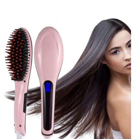 Расческа-выпрямитель для волос Fast Hair Straightener Pro HQT 906 ORIG
