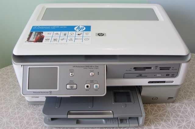 МФУ/Принтер струйный цветной  HP Photosmart C 8183 сканер/копир/Wi-Fi