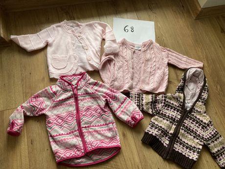 Swetry HM i inne - ubranka dla dziewczynki, wyprawka