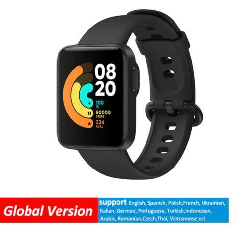 Xiaomi mi relógio lite bluetooth relógio inteligente gps 5atm à prova