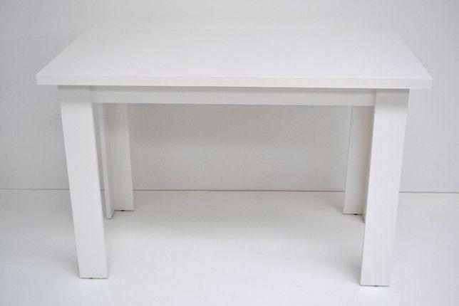 Stół Tokyo 120x68x32 Gruby Blat Biały Mat Okazja!!!