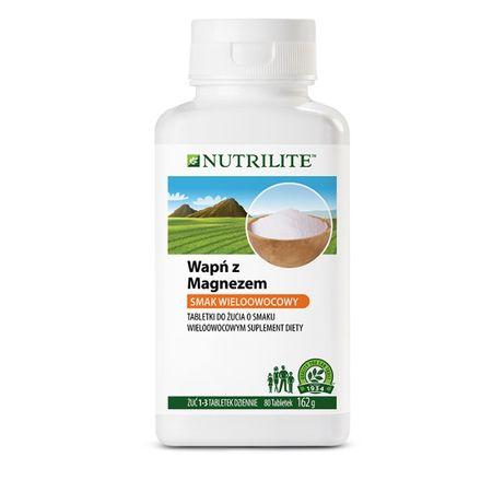 Wapń z magnezem NUTRILITE w tabletkach do żucia