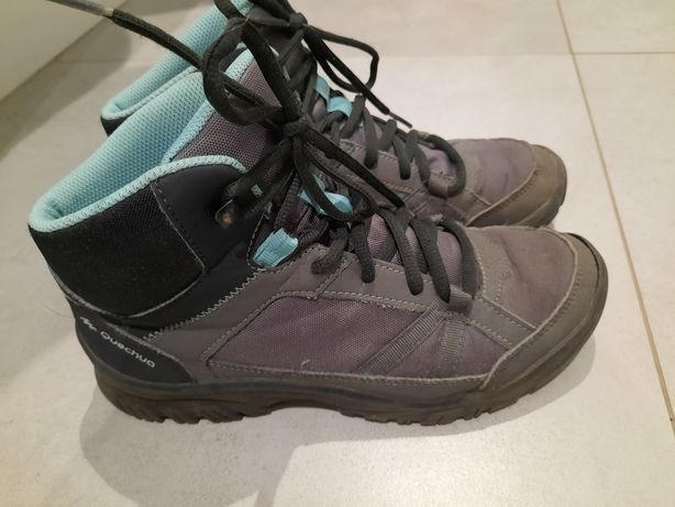 Wysokie buty turystyczne Quechua r. 38