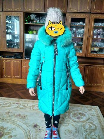Зимова курточка на халофайбері