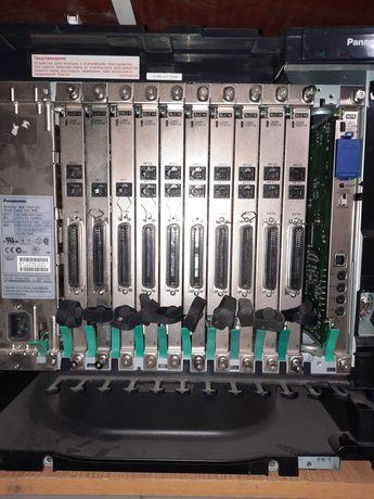 Мини атс на 128 внутренних абонентов  PANASONIC KX-TDA200