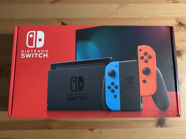 Nintendo Switch v2 Przerobiona CFW + Karta 128GB