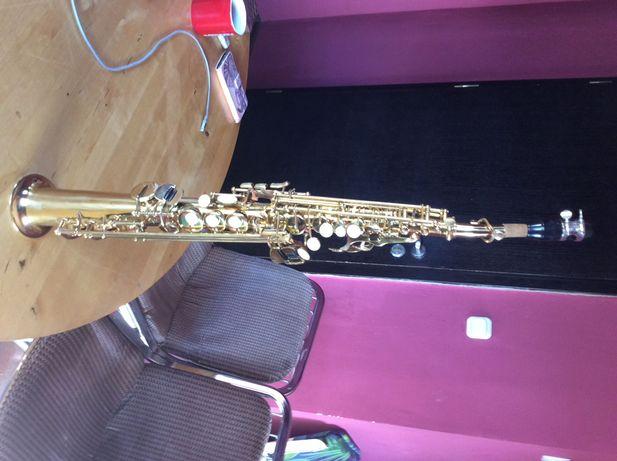 Saksofon sopranowy prosty