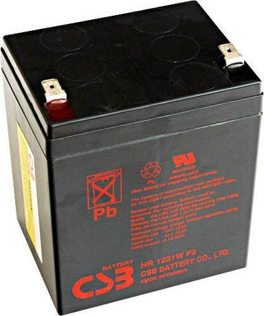 Akumulator AGM Żelowy CSB HR1221 WF2 5.3Ah APC UPS