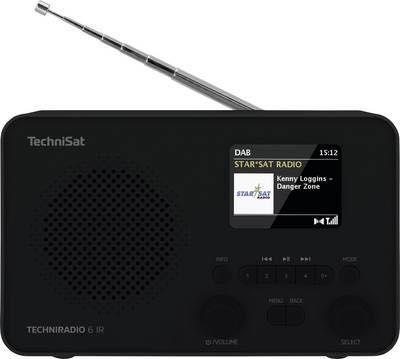 radio internetowe sieciowo-bateryjne Techniradio 6 ir dab+ Technisat