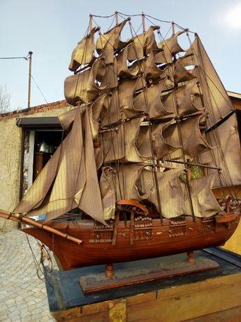 Model statku,żaglowca,antyk