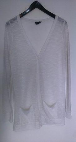 kardigan, długi sweterek, narzutka M