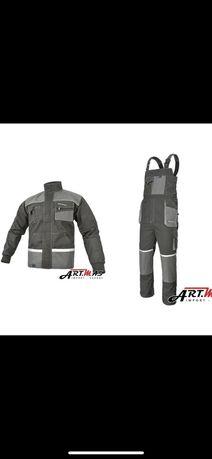 Комплект спецодежди робочий одяг куртка та напівкомбенізон