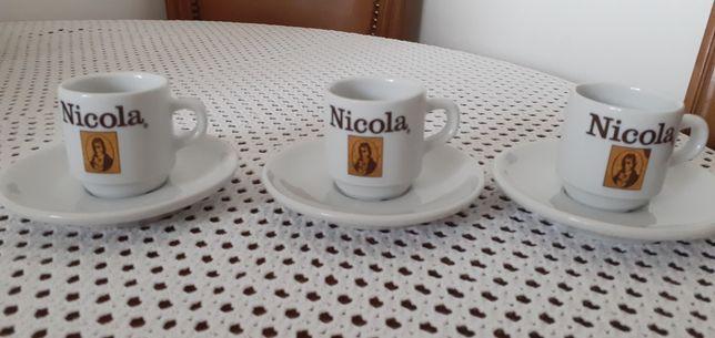 Chávenas de café antigas  coleção