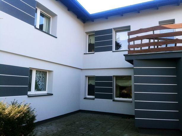 Docieplenia budynków, malowanie