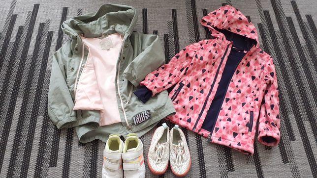 Kurtki i buty dla dziewczynki