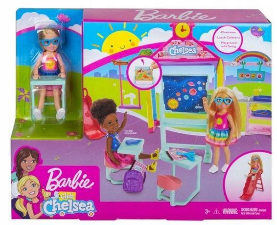 BARBIE Chelsea Lalka Szkoła Zestaw Mattel GHV80