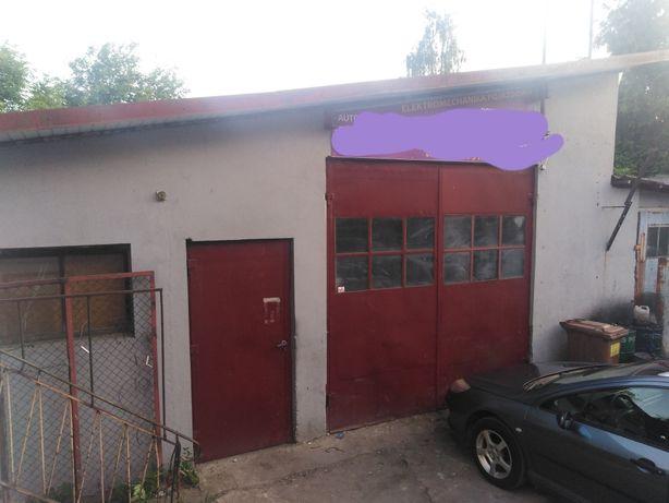 Wynajmę garaż na warsztat samochodowy