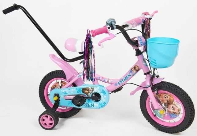 """Rower rowerek dla dziecka 12"""" akcesoria FROZEN HURT-DETAL"""
