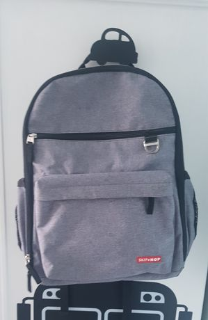 Plecak torba do wózka SKIP HOP Duo Signature Heather Grey