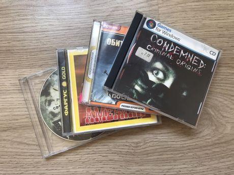 Компьютерные игры на CD