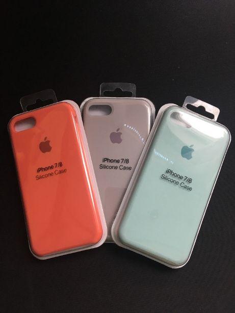 Чехол для айфона iPhone 7/8 Silicone case