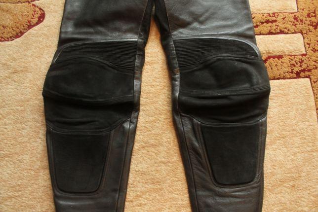 Spodnie motocyklowe skórzane damskie Polo