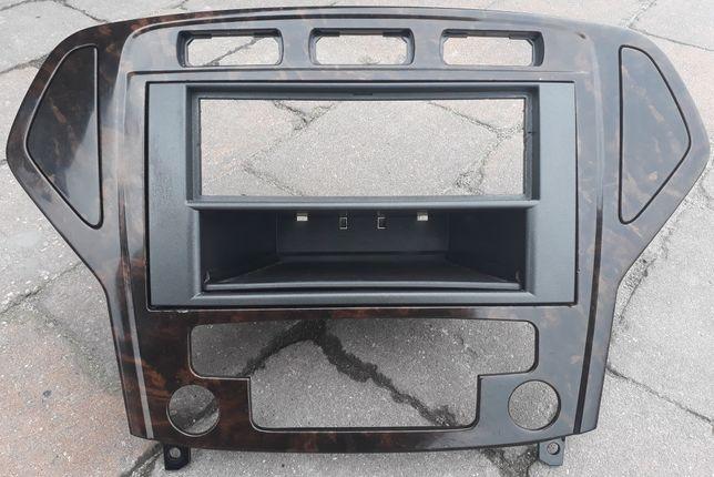 Ramka radia Ford Mondeo Mk4 Drewno Panel Climatronic Titanium