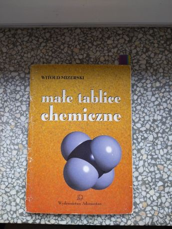 Małe tablice chemiczne. Witold Mizerski