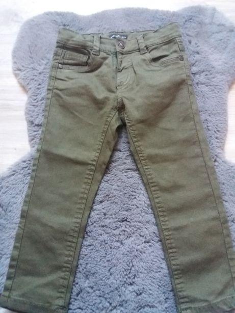 Spodnie z elastycznego materiału RESERVED, r. 98