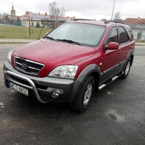 Kia Sorento 2004r 2.5 CRDI zarejestrowany, Diesel, 140KM, napęd 4x4