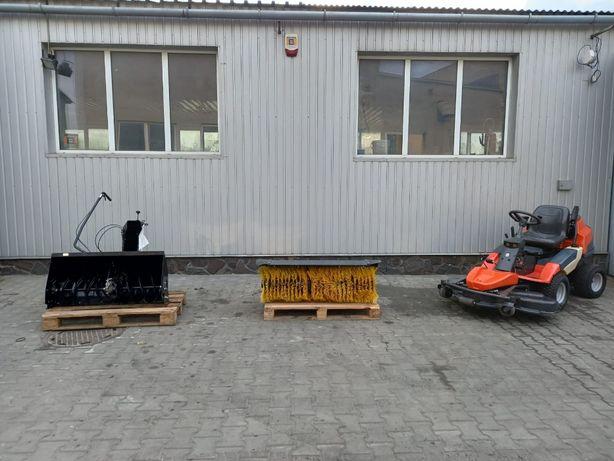 Kosiarka Traktorek Husqvarna R422Ts AWD Zamiatarka + Odśnieżarka
