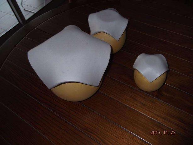 Potes CERNE de barro e castiçal contemporâneos, alta qualidade