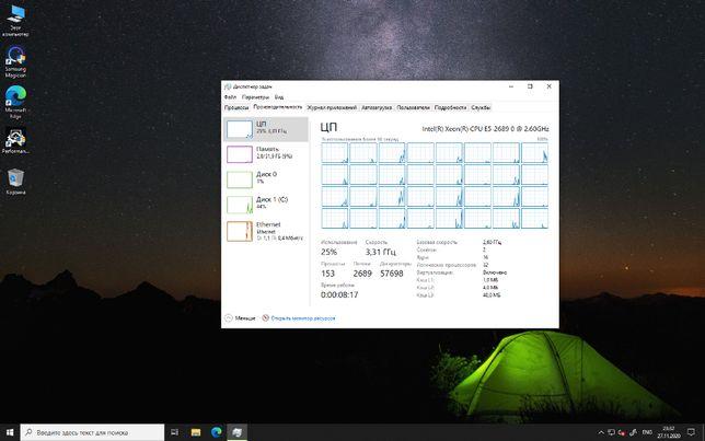 Системный блок Dell T5600 2xXeon E5-2689 32GB 6TB SAS