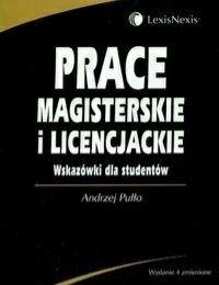 """"""" Prace magisterskie i licencjackie """""""