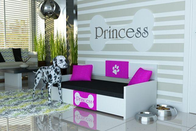 """Legowisko dla psa,psie legowisko -producent-""""PRINCESS""""- tkanina 04"""