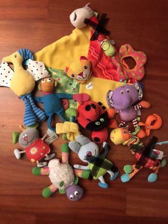 Zabawki/grzechotki dla najmłodszych: Lamaze, Little Tikes, Fisher Pric