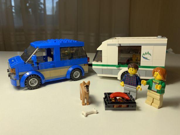 Описание LEGO City Фургон и дом на колёсах (60117)