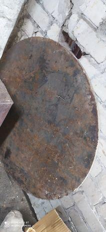 Металева плита 1м*1м*2см