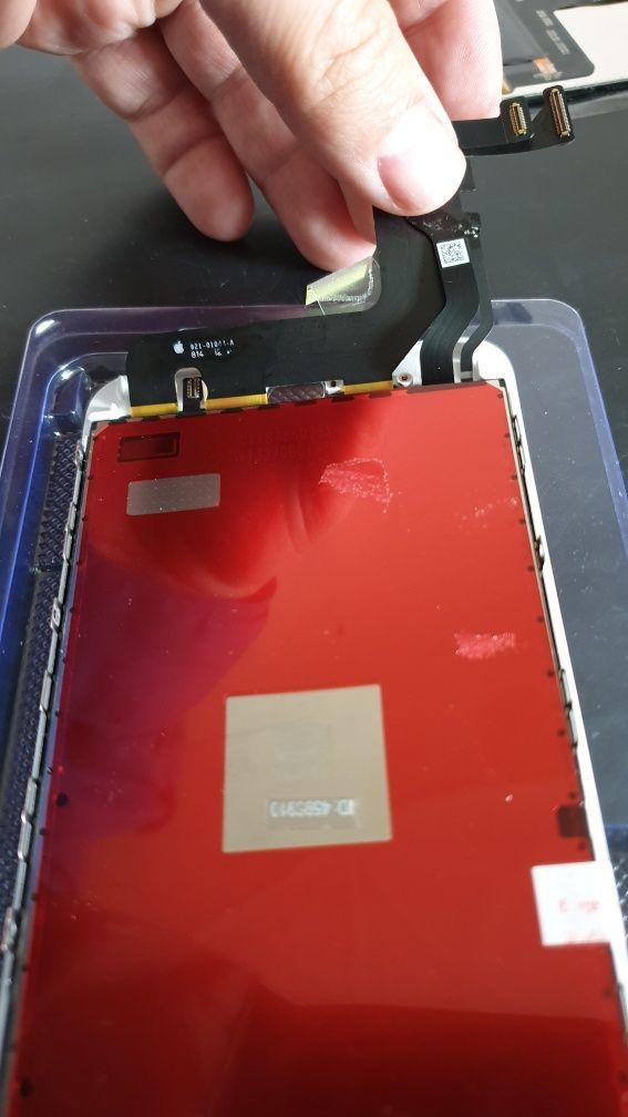 Oryginalny wyświetlacz iPhone 8 Plus czarny lub biały z wymianą