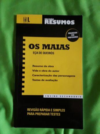 Livro de resumos dos Maias