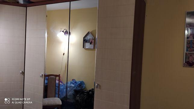 szafa 4 drzwiowa z lustrami pilnie sprzedam 180 cm