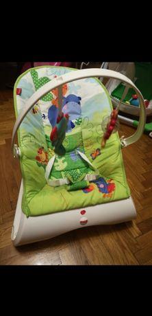 Массажное кресло / шезлонг / кресло-качалка Fisher-Price (CJJ79)
