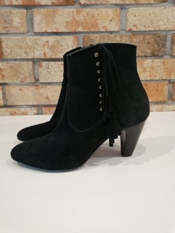 Viola buty do kostki czarne