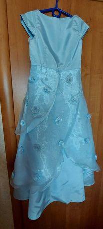 Платье на выпускной (длина 101см)
